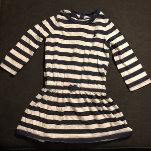 Ralph Lauren 18m striped tennis dress
